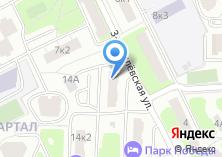 Компания «Хостел на Багратионовской» на карте