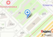 Компания «ВНИИМП-Нова» на карте