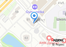 Компания «Жилищник» на карте