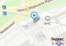 Компания «МосСанЭксперт» на карте