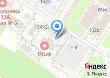 Компания «Теплый Стан» на карте