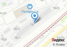 Компания «Комбинат подсобных предприятий» на карте