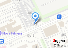 Компания «Гаражно-строительный кооператив №50» на карте
