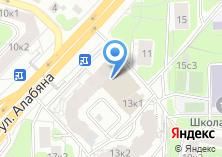 Компания «Амориа» на карте