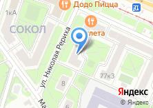 Компания «НОМОС-БАНК» на карте