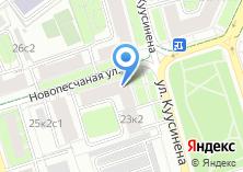 Компания «Стоматология на Песчаной площади» на карте