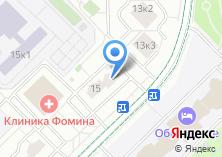 Компания «МКА Советникъ» на карте