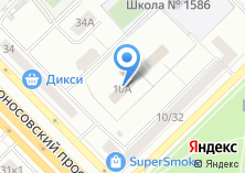 Компания «КБ Инстройбанк» на карте