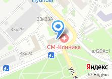 Компания «СМ-Стоматология» на карте