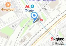 Компания «Секонд-хенд на Новозаводской» на карте