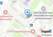 Компания «Оптком» на карте