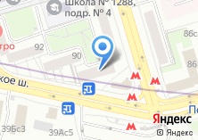 Компания «Магазин разливных напитков на Хорошевском шоссе» на карте