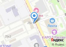 Компания «Общежитие МПГУ» на карте