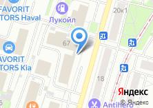 Компания «MService» на карте