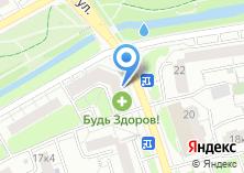 Компания «Маджента» на карте