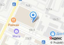 Компания «Ампераж» на карте