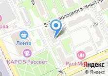Компания «Инфосервис-МСК» на карте