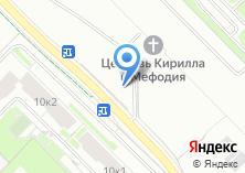 Компания «Московский автосалон» на карте