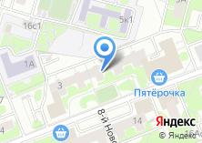 Компания «Центр красоты на Новопетровской» на карте