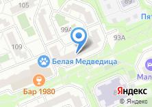 Компания «Орггазнефть» на карте