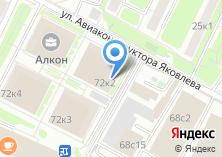 Компания «Строящееся административное здание по ул. Ленинградский проспект» на карте
