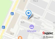 Компания «РосАрхитектор» на карте