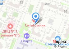 Компания «Сити Клиник» на карте