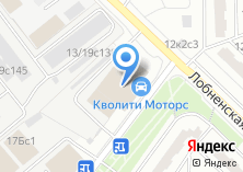 Компания «МЭД» на карте