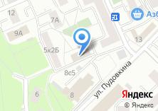 Компания «Ровесник» на карте