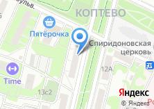 Компания «МГСА Московский городской союз автомобилистов» на карте