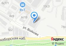 Компания «Электроснаб-М» на карте