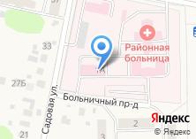 Компания «Львовская районная больница» на карте