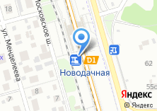 Компания «Новодачная» на карте