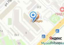 Компания «Taxi-co» на карте