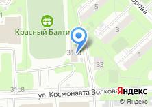 Компания «МосПроектСтрой» на карте