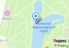 Компания «Московское велокафе №1» на карте