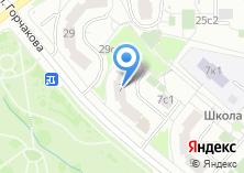 Компания «Горчакова 7» на карте