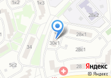 Компания «Участковый пункт полиции район Южное Бутово» на карте