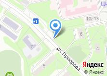 Компания «Кафе на Приорова» на карте