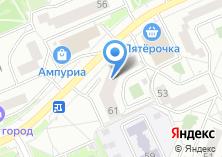 Компания «Ар Нуво салон-магазин штор» на карте