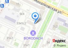 Компания «Ля Визаж» на карте