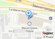 Компания «Магистраль Плаза - бизнес центр» на карте