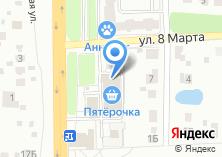 Компания «MAGICprint» на карте