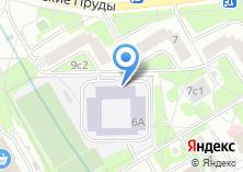 Компания «Средняя общеобразовательная школа №1100 с дошкольным отделением» на карте