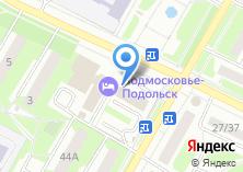 Компания «Подмосковье-Подольск» на карте
