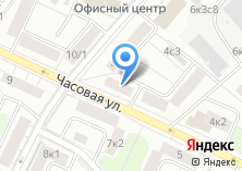 Компания «ЕИРЦ района Аэропорт» на карте