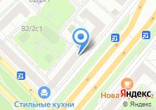Компания «Ода» на карте