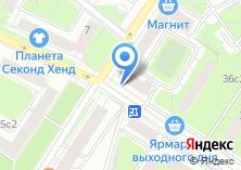 Компания «Маркер» на карте