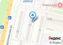 Компания «Веснушка» на карте