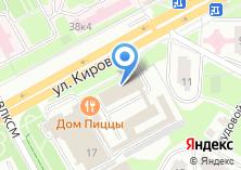 Компания «Evro-Cars» на карте